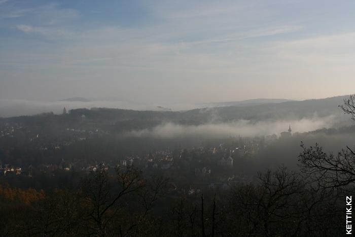Туман рассеивается