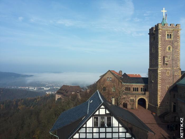 Вартбург сверху