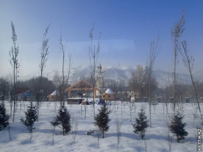 Казахская деревня