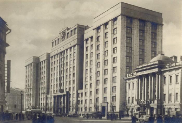 Здание Совета Министров СССР
