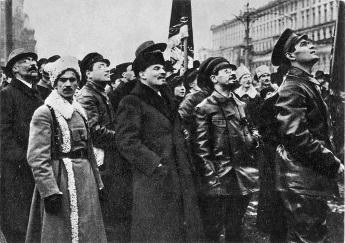 Ленин и Свердлов