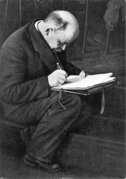 Ленин на конгрессе Коминтерна