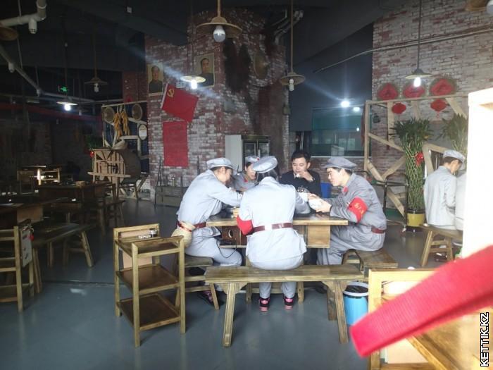 Завтрак в китайском ресторане