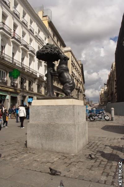 Символ Мадрида - медведь