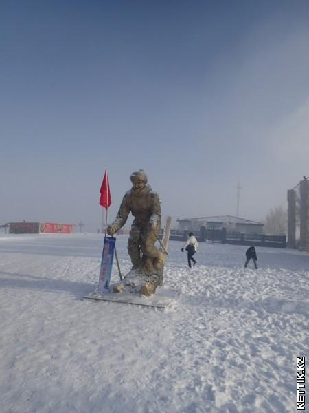Великий лыжник
