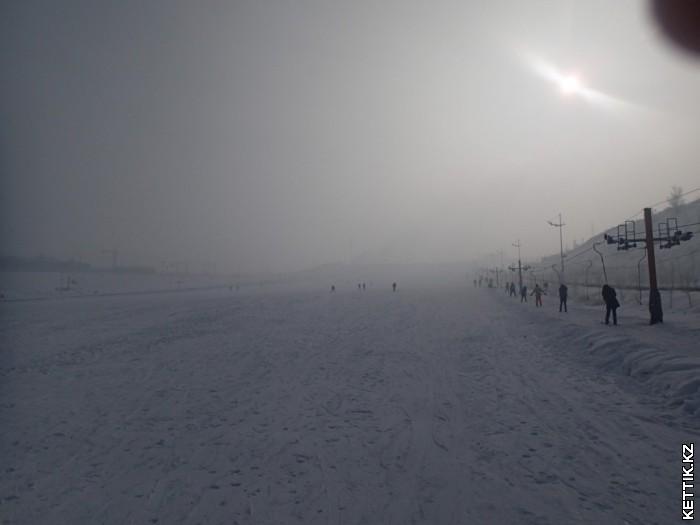 Горнолыжный склон Вест