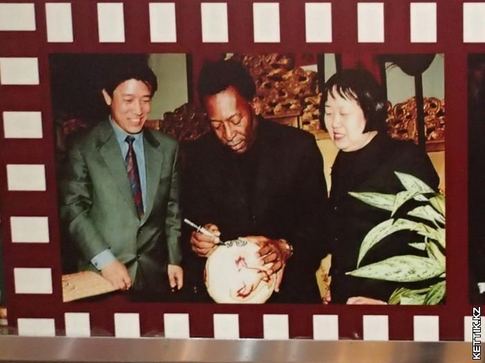 Пеле в Китае