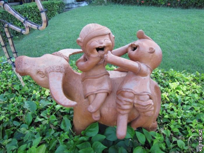 Тайские скульптуры