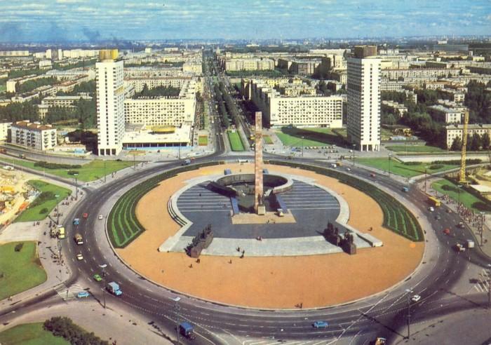 Памятник защитникам Ленинграда