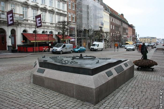 макет Хельсинборга