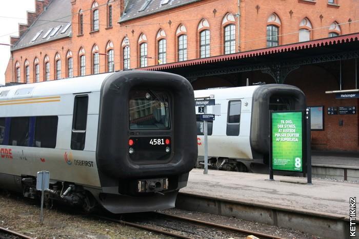 датские поезда