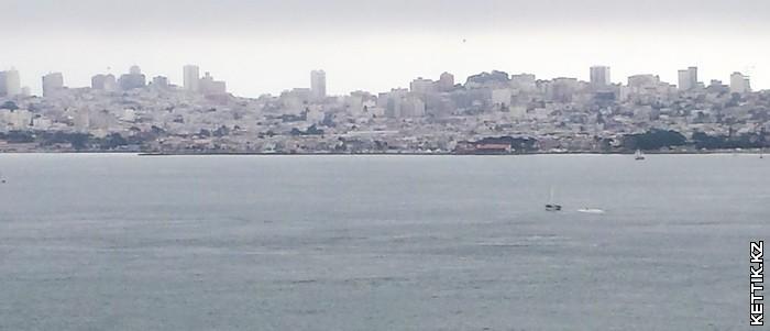 панорама С-Франциско