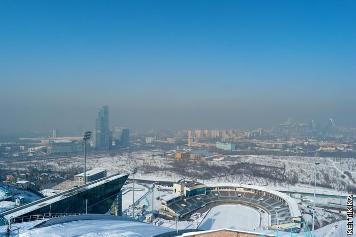 Трамплины Алматы