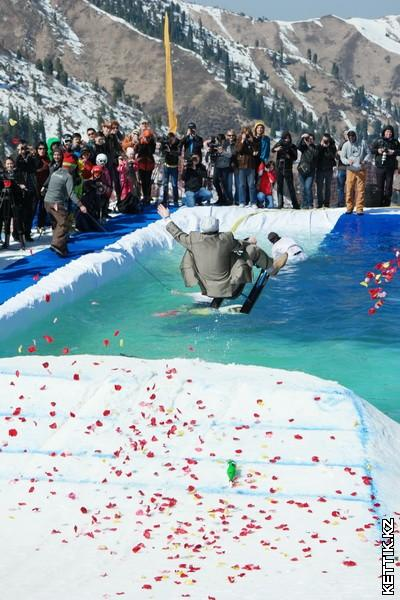 Red Bull Jump and Freeze