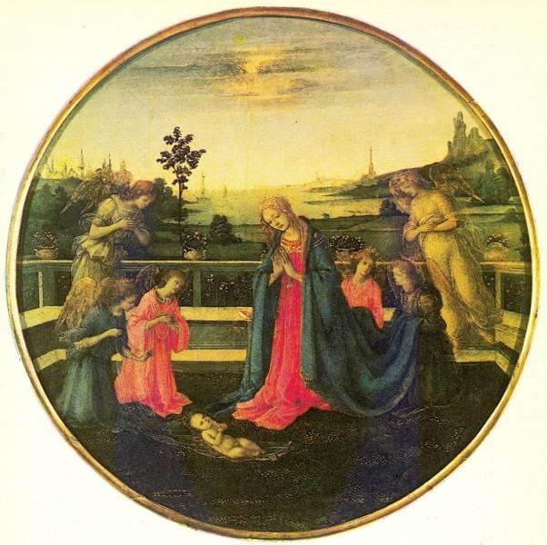 Поклонение младенцу Христу