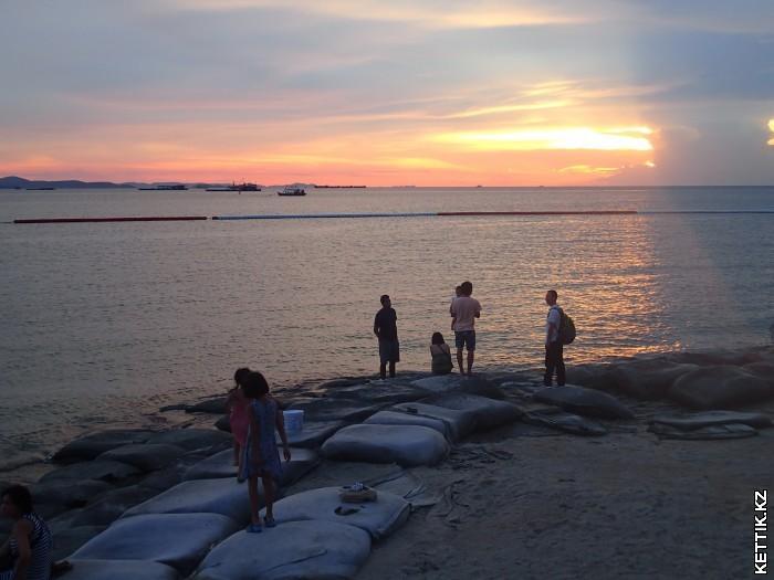 Закат в Паттайе