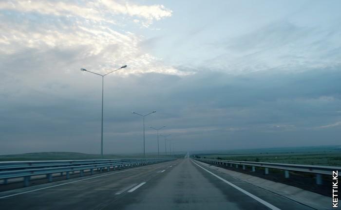 Дорога на Талдыкурган