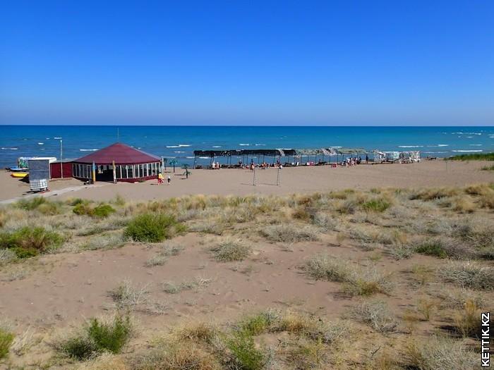 Пляж Балхаш