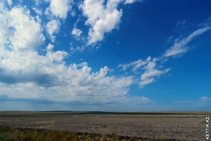 Казахская степь