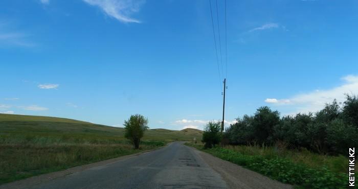 Дорога в Черкасское