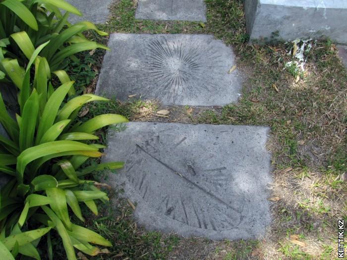 Отпечатки в бетоне