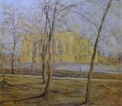 Театр за деревьями