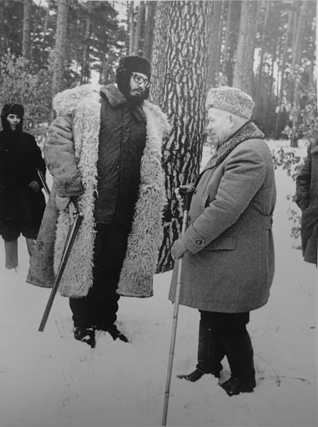 Фидель и Хрущев
