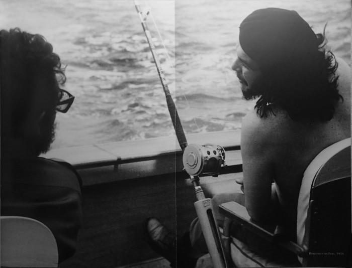 Фидель и Че на рыбалке