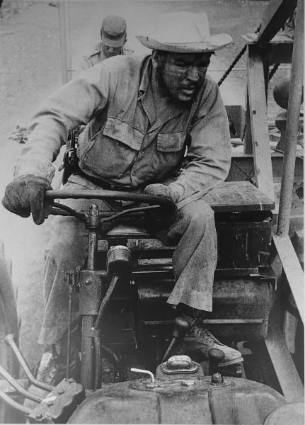 Че Гевара на тракторе