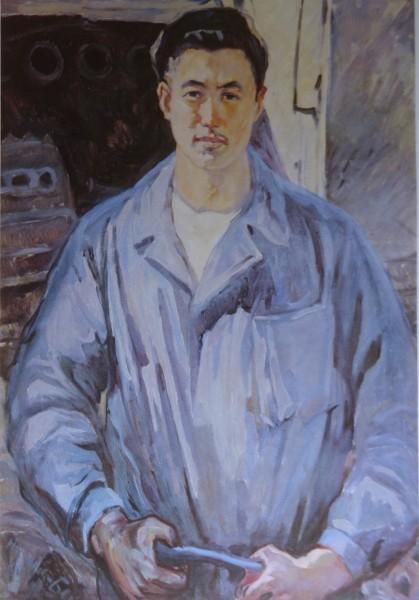 Портрет Ахунбекова
