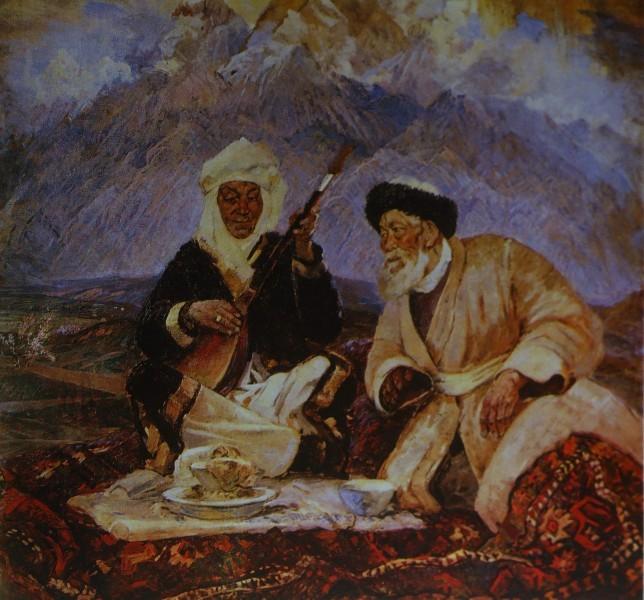Джамбул и Дина Нурпеисова