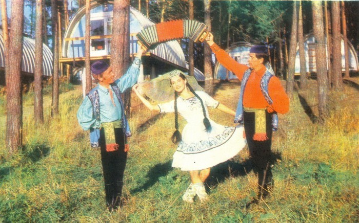 Лагерь Волга