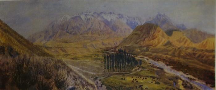 В долине реки Чижин