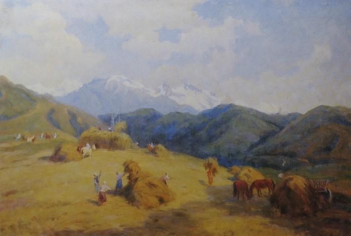 Сенокос в горах