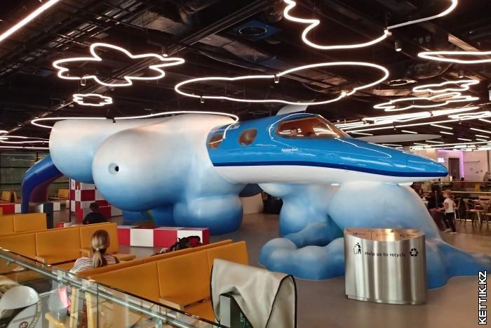 Самолет детский