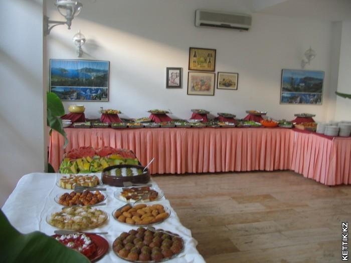 Турция шведский стол