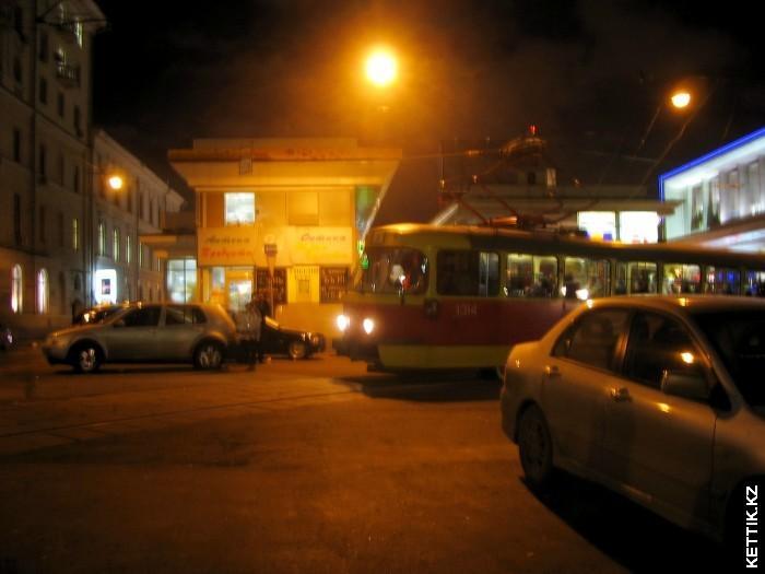 Трамвай на Патриарших