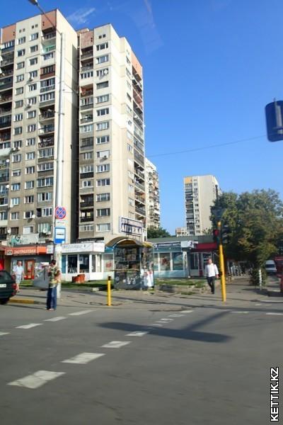 Многоэтажки Софии