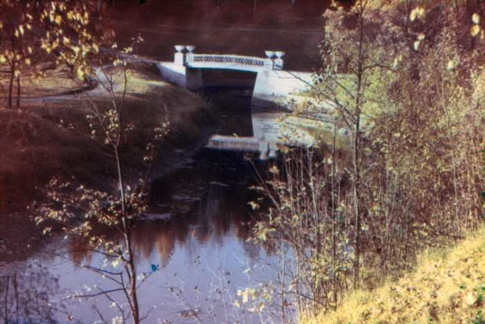 Чугунный мостик