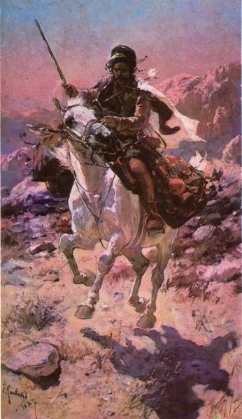 Курд на лошади