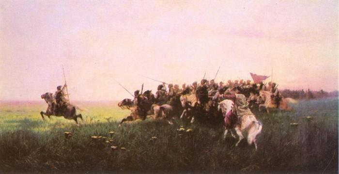 Атака запорожцев