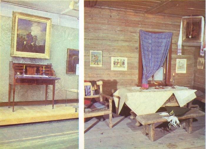 Интерьер Кутузовской избы