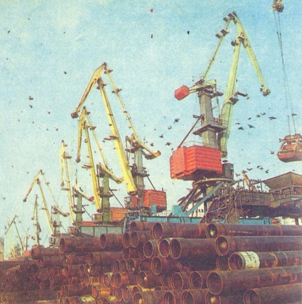 Портовые краны