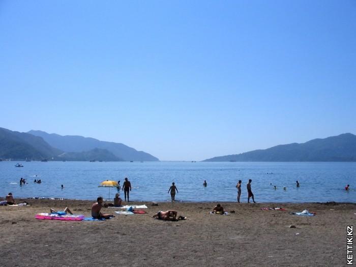 Пляж Ичмелер