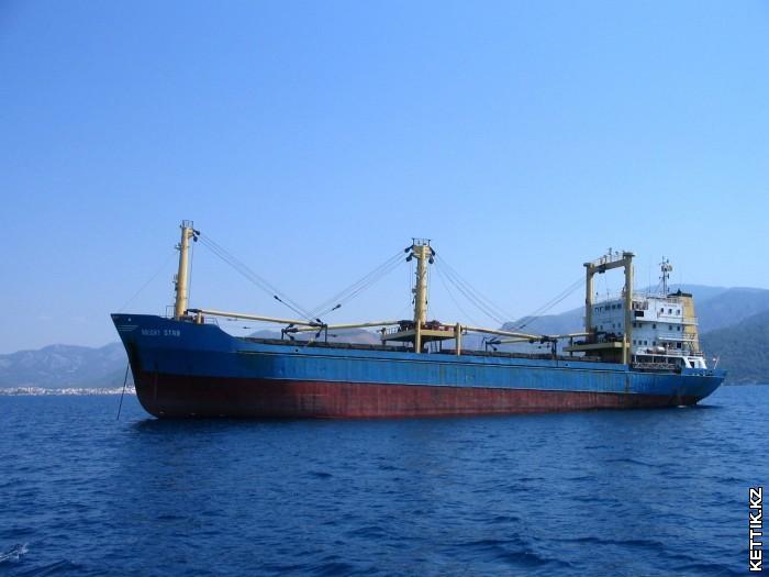 Океанский сухогруз