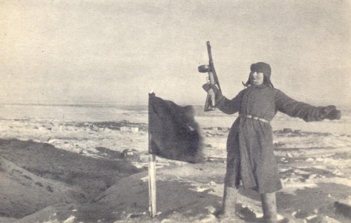 Флаг на Мамаевом кургане