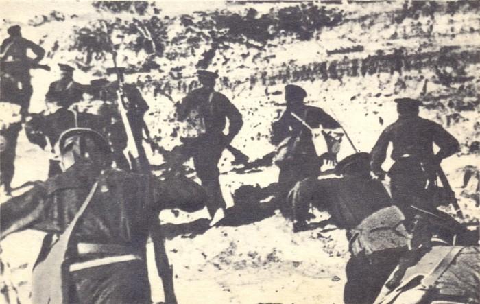 Морская пехота на Волге
