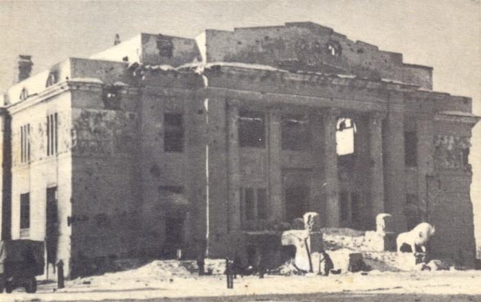 Театр после битвы