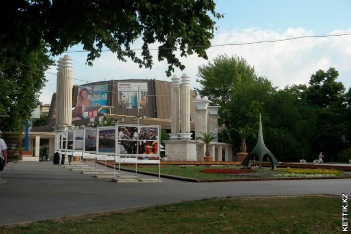 Приморский парк Главный вход