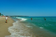 Черное море пляж